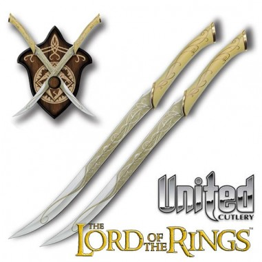Fighting Knives of Legolas - The Lord of the Rings - United Cutlery