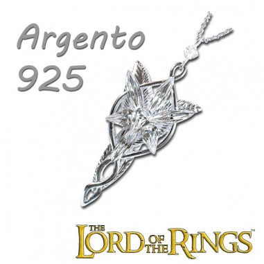 Ciondolo Arwen in Argento - Lord of the Rings