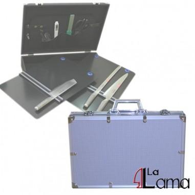 Valigia in alluminio