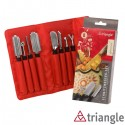 Set sgorbie professionali 2 - Triangle