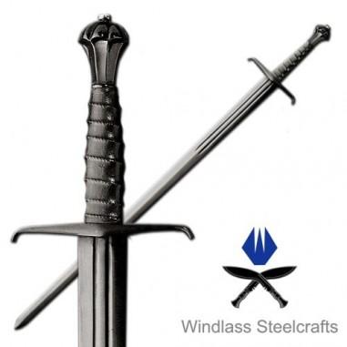 Blackened Hand and a Half Sword - Windlass