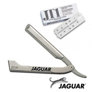 Shavette manico acciaio JTM1 - Jaguar