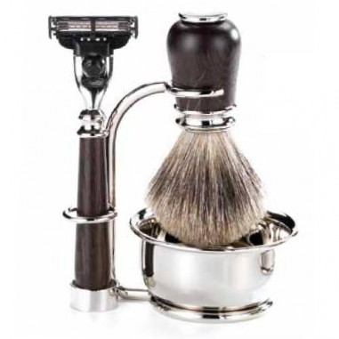 Set da barba wengè Deluxe