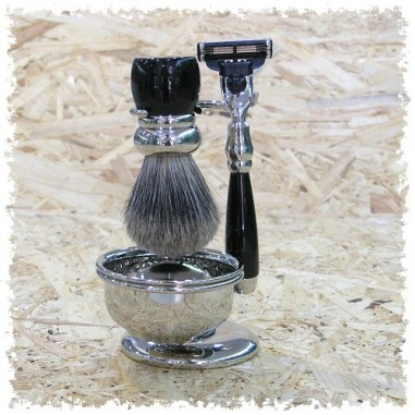 Set da barba in resina H&R