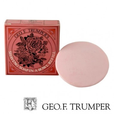 Refill sapone da barba rosa - Geo F. Trumper