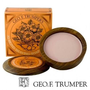Ciotola in legno con sapone mandorla - Geo F. Trumper