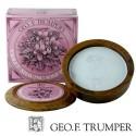 Ciotola in legno con sapone violetta - Geo F. Trumper