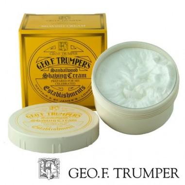Ciotola con crema da barba sandalo - Geo F. Trumper