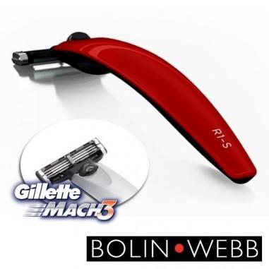 Rasoio R1 Mach3 Monza Red - Bolin Webb