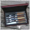 Set coltelli bistecca legno - Laguiole en Aubrac