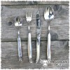 Set tavola 6 posti con accessori punta di corno - Laguiole en Aubrac