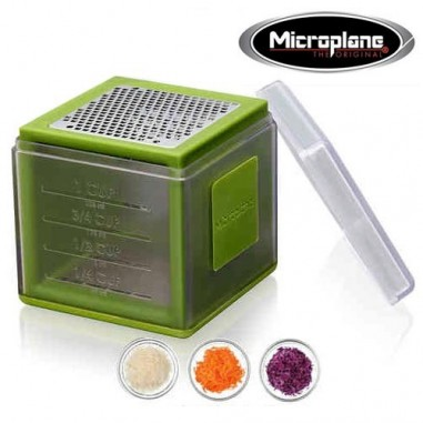 Cube Grater Green- Microplane