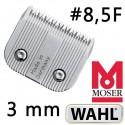 Testina da 3 mm 8,5F - Wahl Moser Ermilia