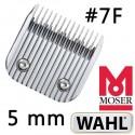 Testina da 5 mm 7F - Wahl Moser Ermilia