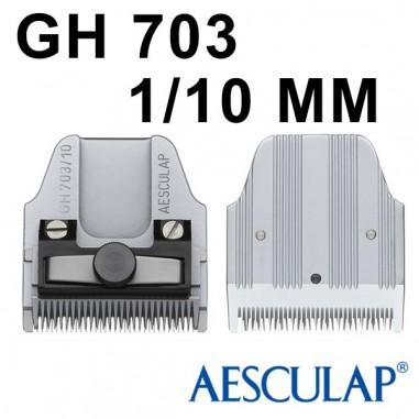 Testina 0,10 mm GH703 - Aesculap