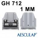 Testina 1 mm GH712 - Aesculap