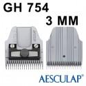 Testina 3 mm GT754- Aesculap