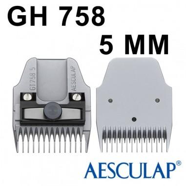 Testina 5 mm GT758 - Aesculap