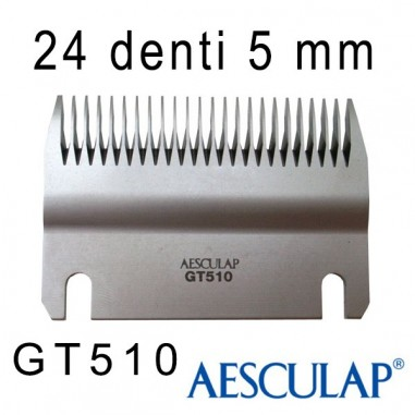 Pettine 5 mm 24D - Aesculap