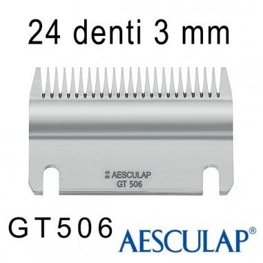 Pettine 3 mm 24D GT506 - Aesculap