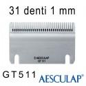 Pettine 1 mm 31D GT511 - Aesculap
