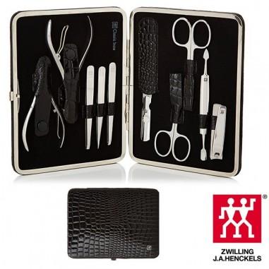 Set Manicure 10 pz Classic Inox Black- Zwilling