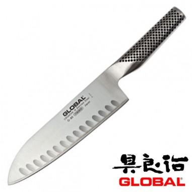 G80 Santoku alveolare cm 18 - Global