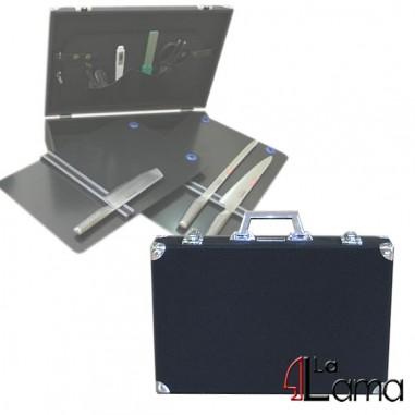 Valigia in alluminio nera