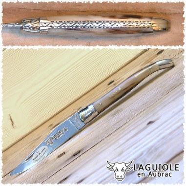 Laguiole Corno 12 cm 2T DL- En Aubrac