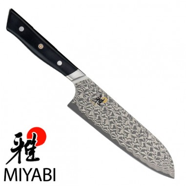 Santoku cm 18 - Miyabi 800DP Hibana