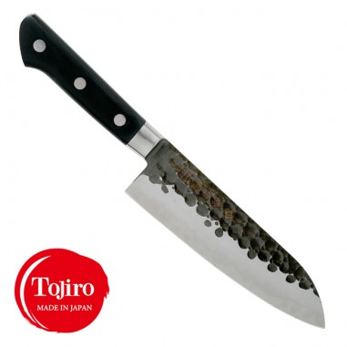 Santoku 16 cm - DP 3 Hammered Tojiro